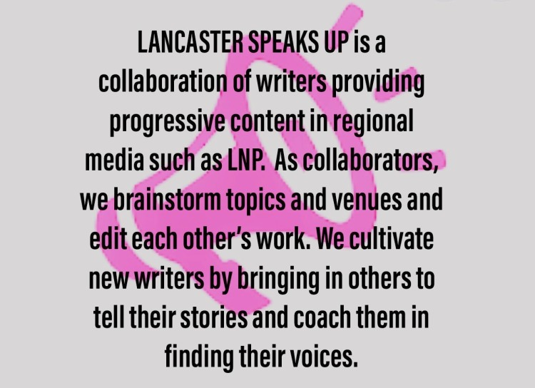 What is Lancaster Speaks Up?